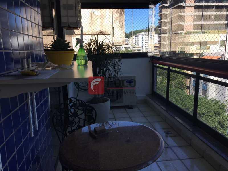 VARANDA - Cobertura à venda Rua Fonte da Saudade,Lagoa, Rio de Janeiro - R$ 2.980.000 - JBCO30089 - 8