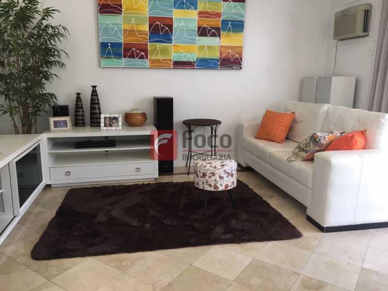 SALÃO - Cobertura à venda Rua Fonte da Saudade,Lagoa, Rio de Janeiro - R$ 2.980.000 - JBCO30089 - 4