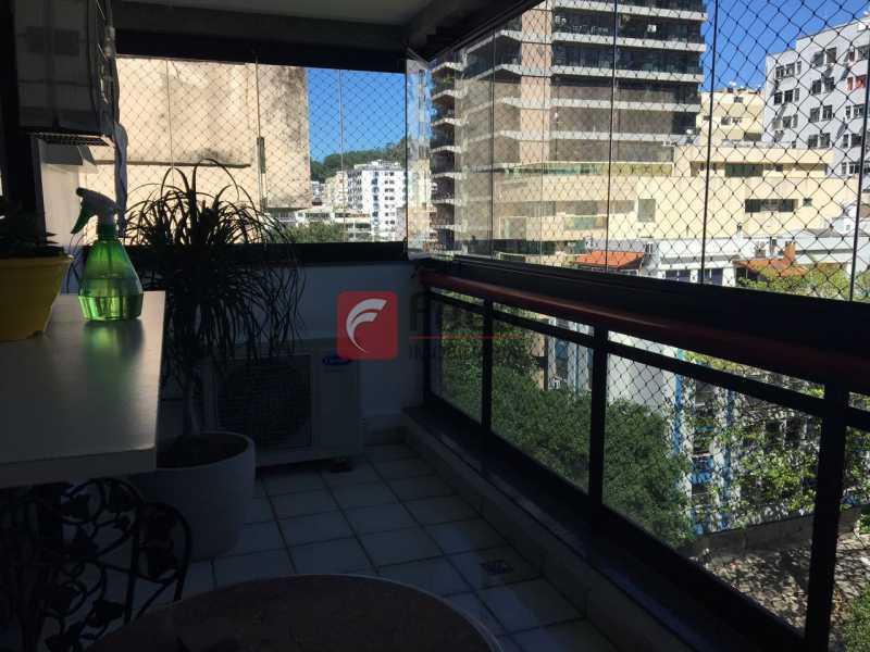 VARANDA - Cobertura à venda Rua Fonte da Saudade,Lagoa, Rio de Janeiro - R$ 2.980.000 - JBCO30089 - 17