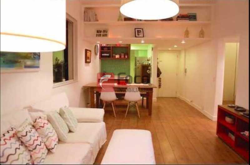 SALA - Apartamento à venda Rua Maria Angélica,Lagoa, Rio de Janeiro - R$ 1.170.000 - JBAP20580 - 1