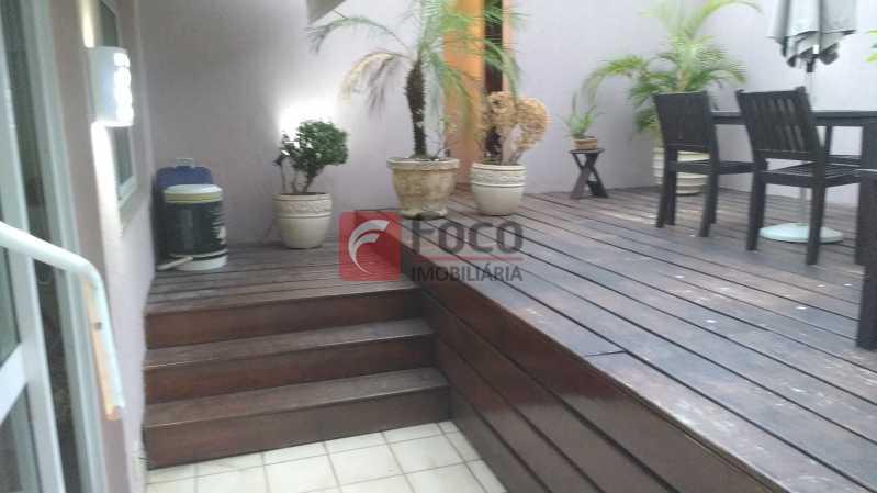 TERRAÇO - Cobertura À VENDA, Jardim Botânico, Rio de Janeiro, RJ - JBCO40055 - 14