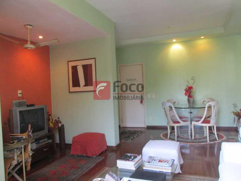 sala - Apartamento à venda Rua do Humaitá,Humaitá, Rio de Janeiro - R$ 750.000 - JBAP10207 - 7
