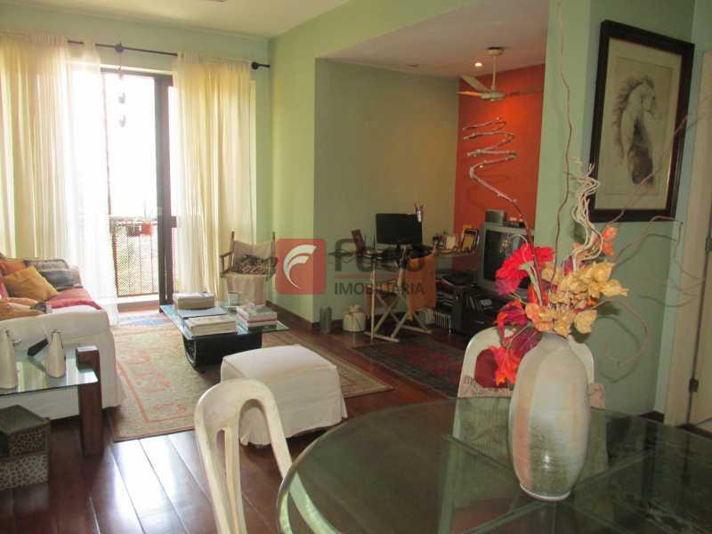 sala - Apartamento à venda Rua do Humaitá,Humaitá, Rio de Janeiro - R$ 750.000 - JBAP10207 - 1