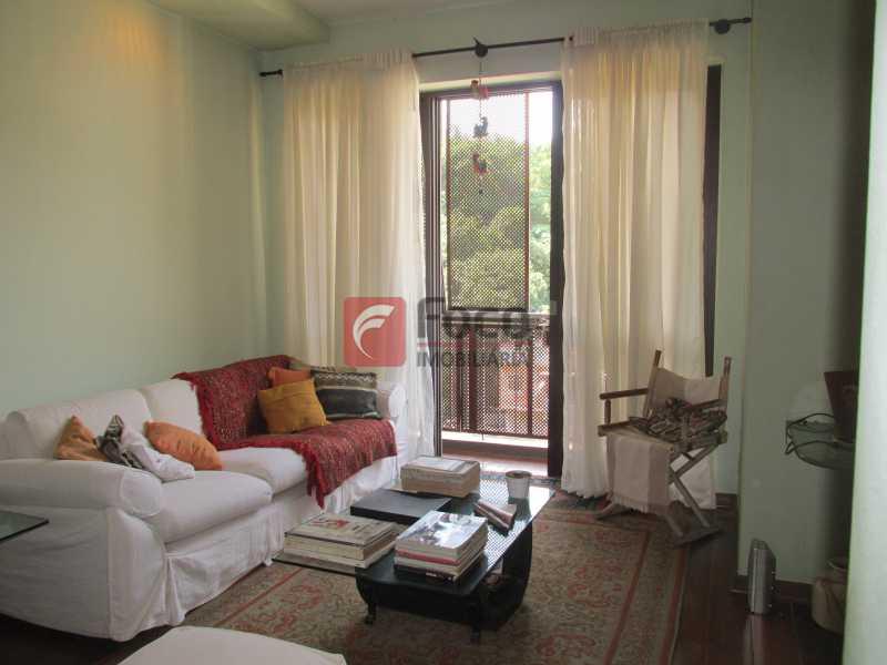 sala - Apartamento à venda Rua do Humaitá,Humaitá, Rio de Janeiro - R$ 750.000 - JBAP10207 - 3