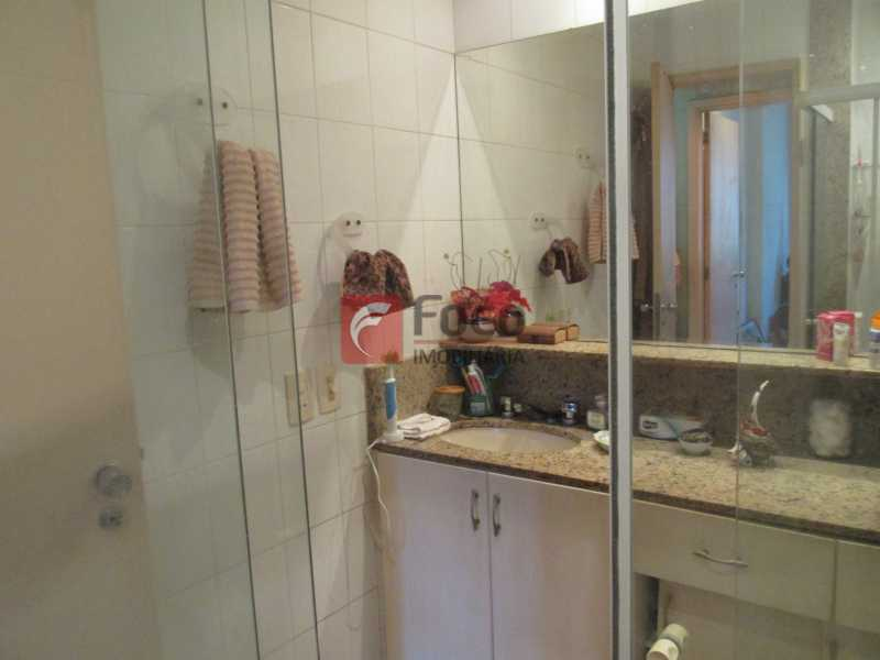 banheiro - Apartamento à venda Rua do Humaitá,Humaitá, Rio de Janeiro - R$ 750.000 - JBAP10207 - 14