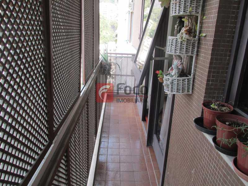 varanda - Apartamento à venda Rua do Humaitá,Humaitá, Rio de Janeiro - R$ 750.000 - JBAP10207 - 10