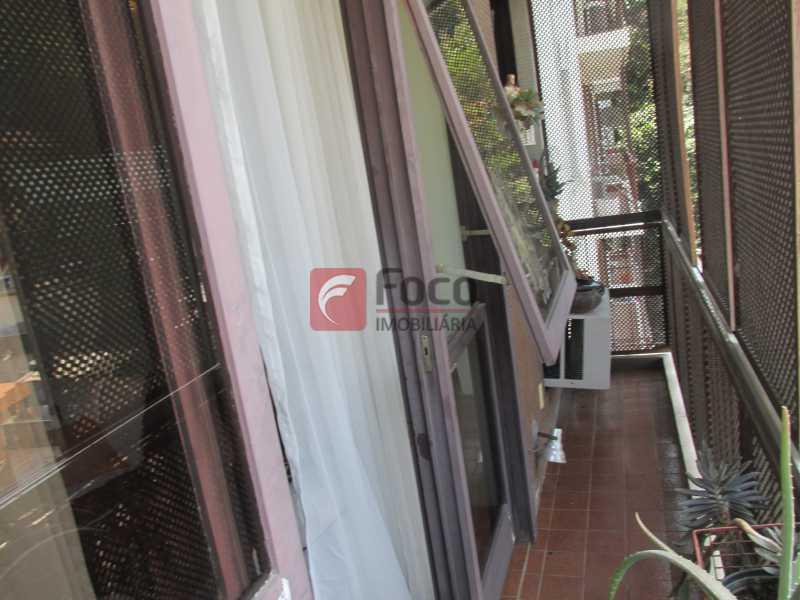varanda - Apartamento à venda Rua do Humaitá,Humaitá, Rio de Janeiro - R$ 750.000 - JBAP10207 - 11