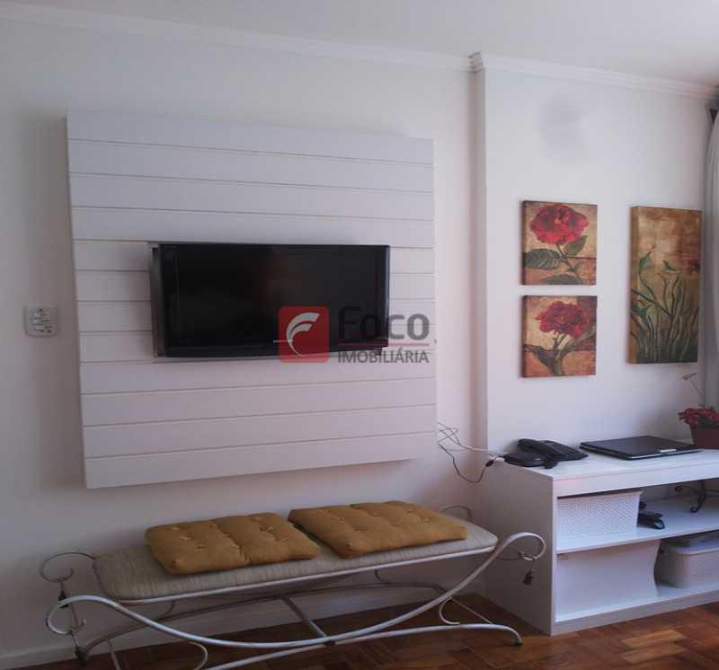 SALA - Ótima Localização, perto Metrô Jardim de Alah e Shopping Leblon - Sala Quarto Reformado. - JBAP10211 - 7