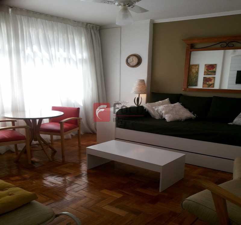 SALA - Ótima Localização, perto Metrô Jardim de Alah e Shopping Leblon - Sala Quarto Reformado. - JBAP10211 - 1