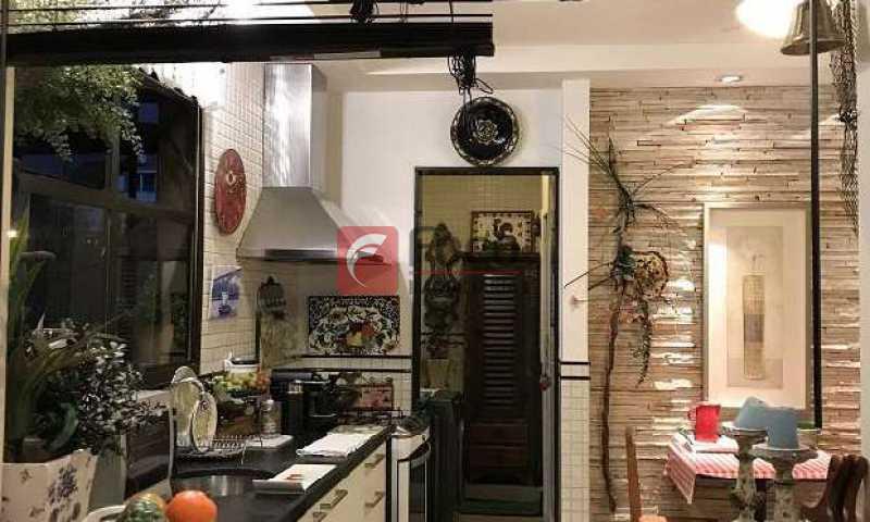 Copa Cozinha - Quadríssima - Rua Nobre - Metrô e Praia - Vara, Sala 2 Quartos (suíte) - Vaga na Escritura. Reformado. - JBAP20613 - 14