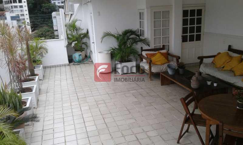 TERRAÇO - Próximo a Lagoa - Linda Cobertura com Vista para a Lagoa - 04 quartos (2suítes) - 02 Vagas na Escritura - JBCO40058 - 6