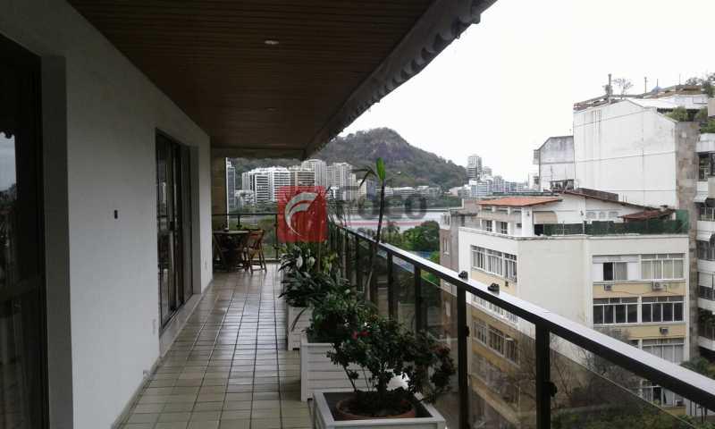 VARANDÃO - Próximo a Lagoa - Linda Cobertura com Vista para a Lagoa - 04 quartos (2suítes) - 02 Vagas na Escritura - JBCO40058 - 9