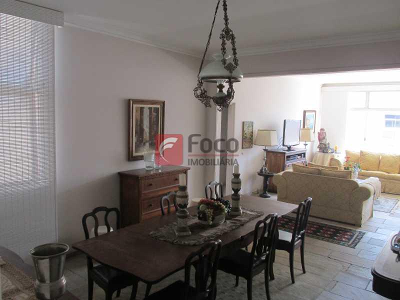 SALA JANTAR E LIVING - Apartamento À Venda - Copacabana - Rio de Janeiro - RJ - JBAP30821 - 5