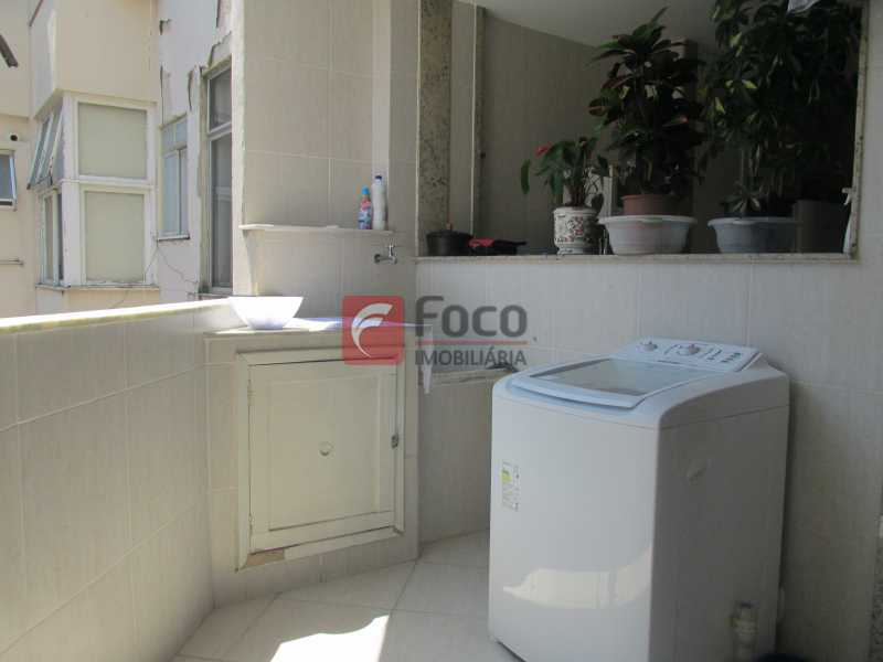 ÁREA DE SERVIÇO - Apartamento À Venda - Copacabana - Rio de Janeiro - RJ - JBAP30821 - 21
