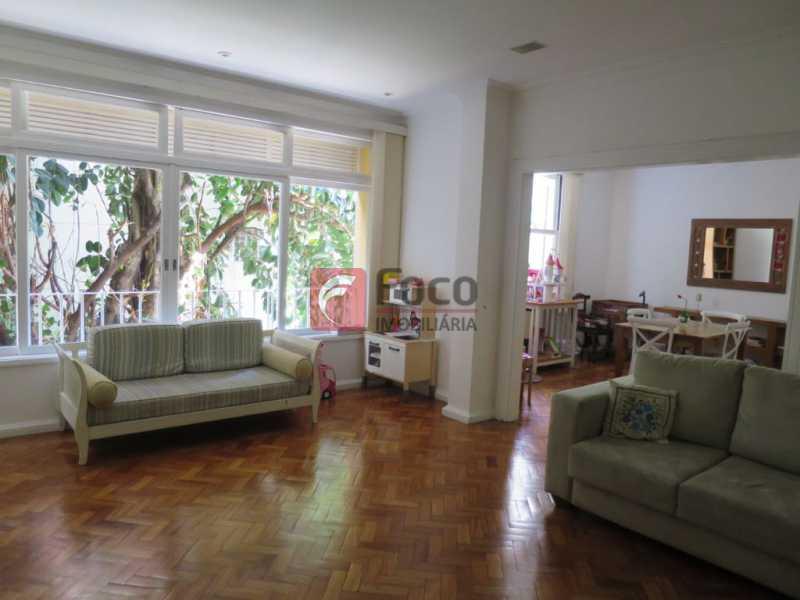 SALÃO - Apartamento Rua Bogari,Lagoa, Rio de Janeiro, RJ À Venda, 3 Quartos, 127m² - JBAP30828 - 3