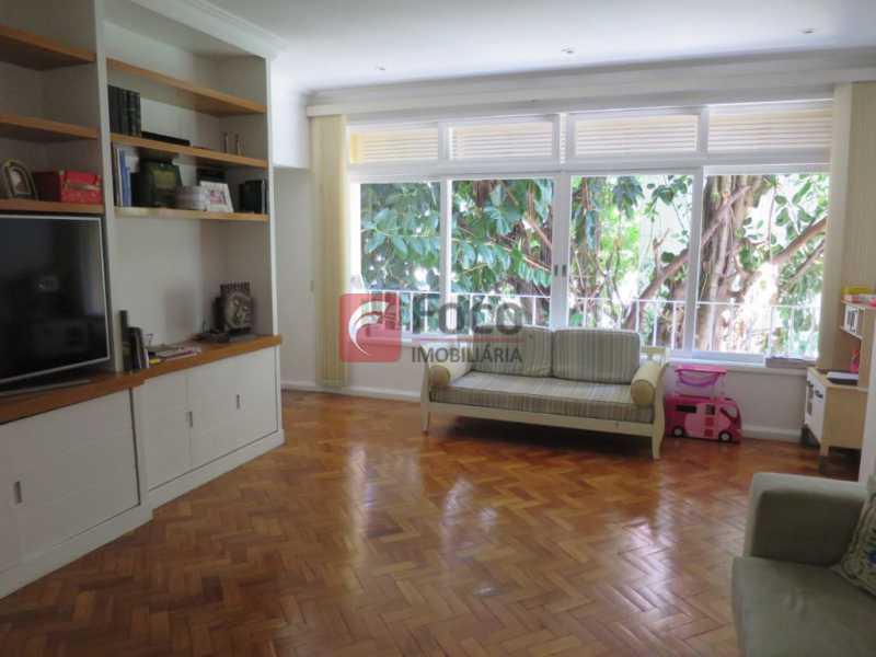 SALÃO - Apartamento Rua Bogari,Lagoa, Rio de Janeiro, RJ À Venda, 3 Quartos, 127m² - JBAP30828 - 4