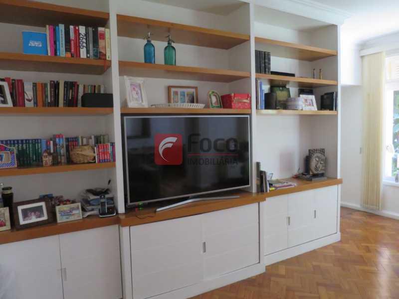 SALA - Apartamento Rua Bogari,Lagoa, Rio de Janeiro, RJ À Venda, 3 Quartos, 127m² - JBAP30828 - 5