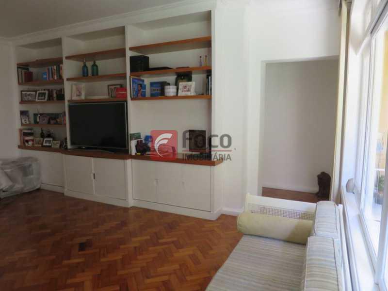 SALÃO - Apartamento Rua Bogari,Lagoa, Rio de Janeiro, RJ À Venda, 3 Quartos, 127m² - JBAP30828 - 6