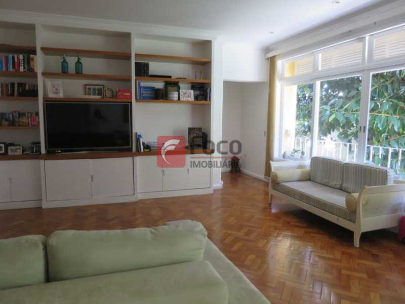 SALÃO - Apartamento Rua Bogari,Lagoa, Rio de Janeiro, RJ À Venda, 3 Quartos, 127m² - JBAP30828 - 1