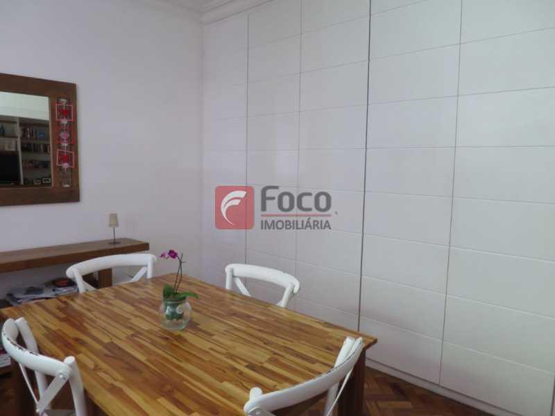 SALA DE JANTAR - Apartamento Rua Bogari,Lagoa, Rio de Janeiro, RJ À Venda, 3 Quartos, 127m² - JBAP30828 - 23