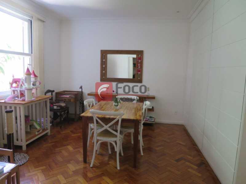 SALA DE JANTAR - Apartamento Rua Bogari,Lagoa, Rio de Janeiro, RJ À Venda, 3 Quartos, 127m² - JBAP30828 - 8