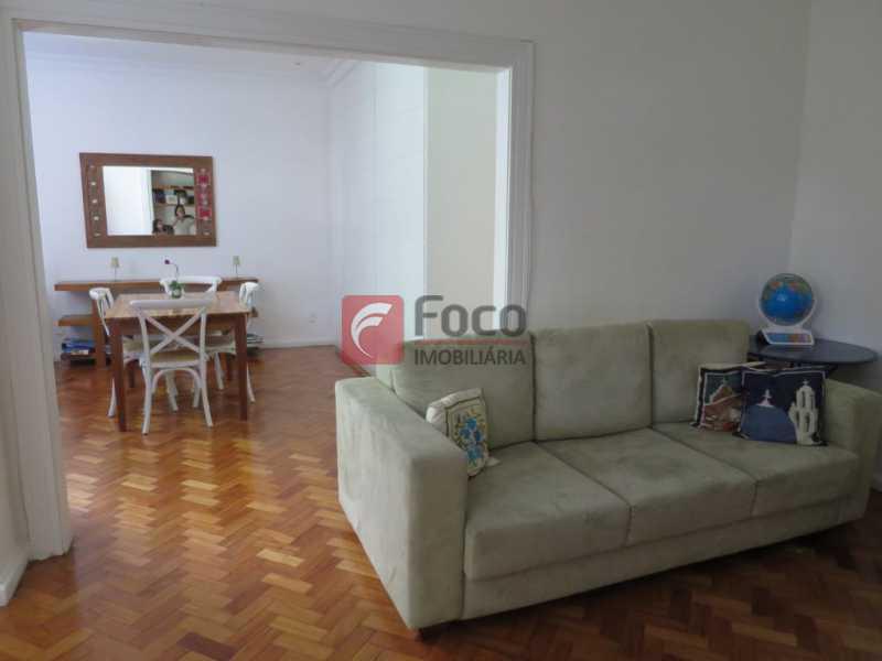 SALA - Apartamento Rua Bogari,Lagoa, Rio de Janeiro, RJ À Venda, 3 Quartos, 127m² - JBAP30828 - 7