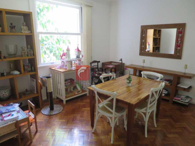 SALA DE JANTAR - Apartamento Rua Bogari,Lagoa, Rio de Janeiro, RJ À Venda, 3 Quartos, 127m² - JBAP30828 - 9
