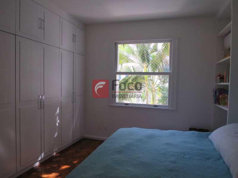 QUARTO SUÍTE - Apartamento Rua Bogari,Lagoa, Rio de Janeiro, RJ À Venda, 3 Quartos, 127m² - JBAP30828 - 10