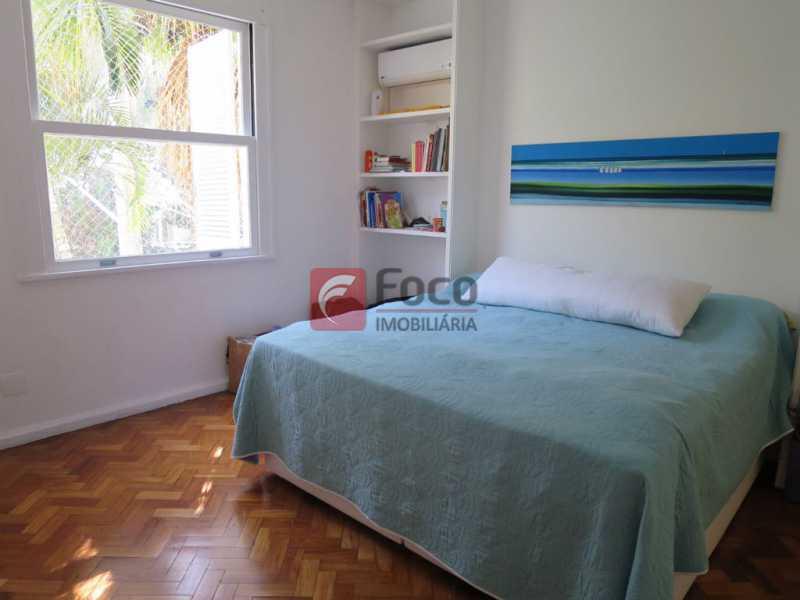 QUARTO SUÍTE - Apartamento Rua Bogari,Lagoa, Rio de Janeiro, RJ À Venda, 3 Quartos, 127m² - JBAP30828 - 11