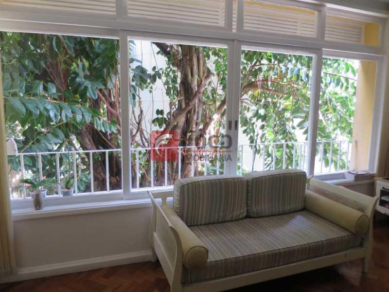 SALA - Apartamento Rua Bogari,Lagoa, Rio de Janeiro, RJ À Venda, 3 Quartos, 127m² - JBAP30828 - 22