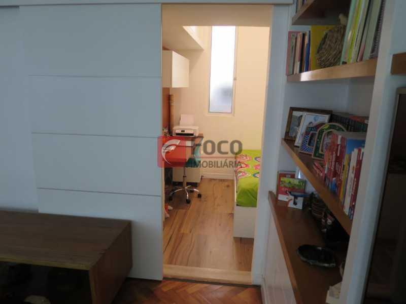 PORTA ACESSO ESCRITÓRIO - Apartamento Rua Bogari,Lagoa, Rio de Janeiro, RJ À Venda, 3 Quartos, 127m² - JBAP30828 - 28