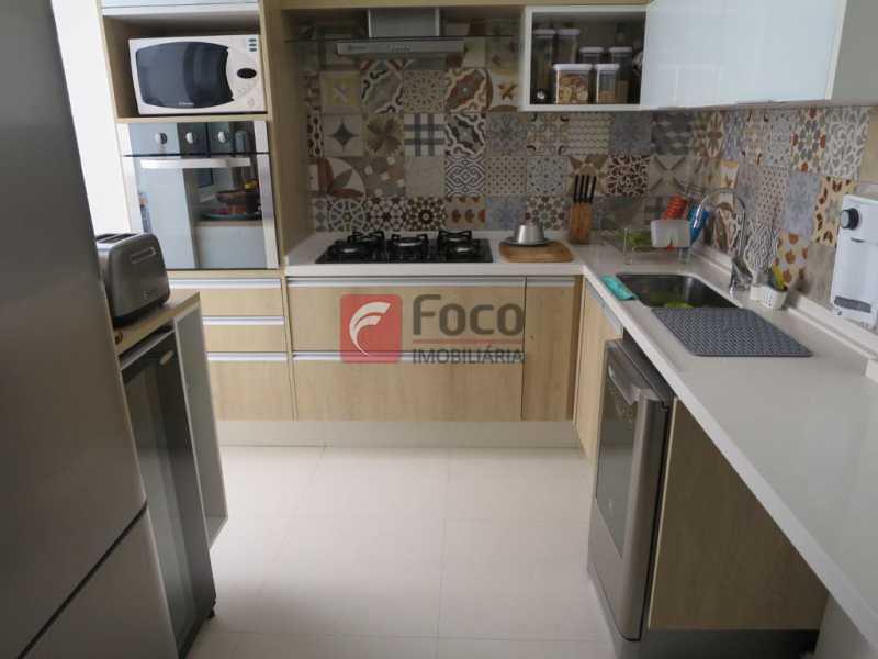 COZINHA - Apartamento Rua Bogari,Lagoa, Rio de Janeiro, RJ À Venda, 3 Quartos, 127m² - JBAP30828 - 17