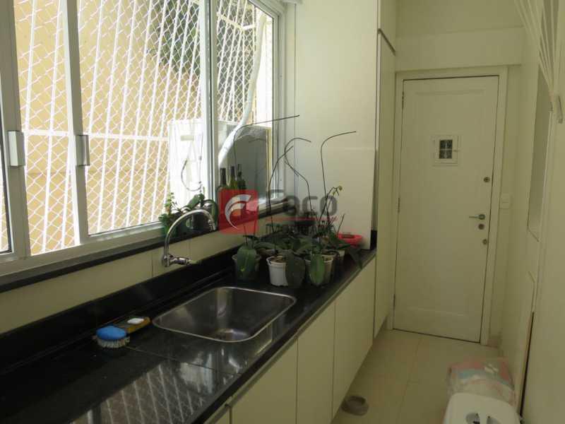 ÁREA DE SERVIÇO - Apartamento Rua Bogari,Lagoa, Rio de Janeiro, RJ À Venda, 3 Quartos, 127m² - JBAP30828 - 21