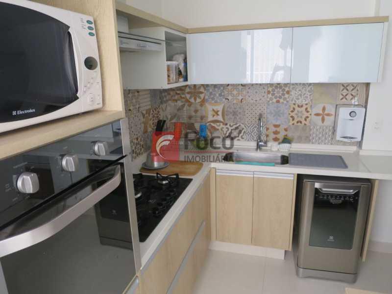 COPA COZINHA - Apartamento Rua Bogari,Lagoa, Rio de Janeiro, RJ À Venda, 3 Quartos, 127m² - JBAP30828 - 18