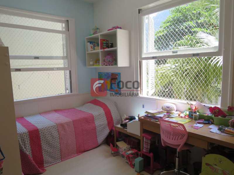 QUARTO - Apartamento Rua Bogari,Lagoa, Rio de Janeiro, RJ À Venda, 3 Quartos, 127m² - JBAP30828 - 15