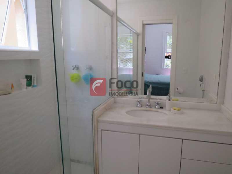 BANHEIRO - Apartamento Rua Bogari,Lagoa, Rio de Janeiro, RJ À Venda, 3 Quartos, 127m² - JBAP30828 - 14