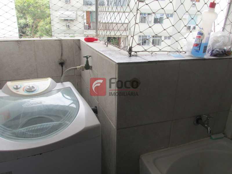 área de serviço - Apartamento à venda Rua Ministro João Alberto,Jardim Botânico, Rio de Janeiro - R$ 930.000 - JBAP20636 - 19