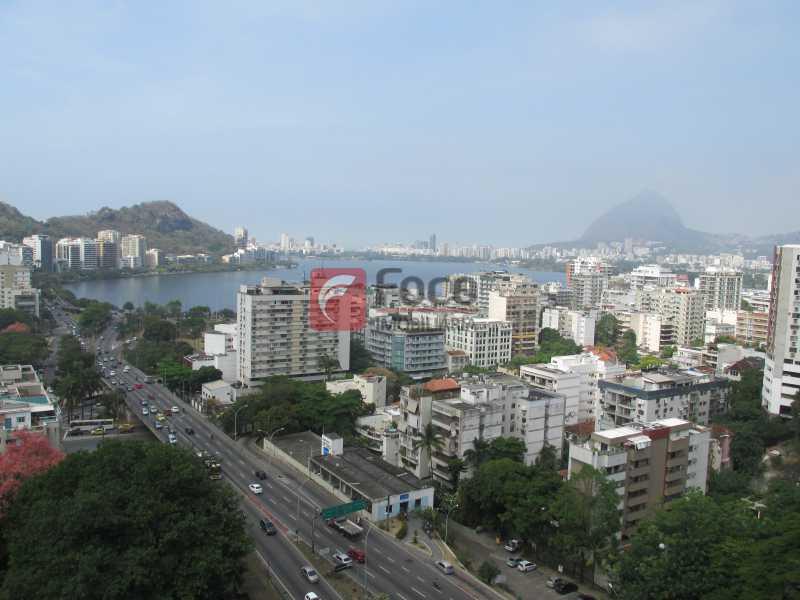 vista ampla cinematografica - Apartamento à venda Rua Ministro João Alberto,Jardim Botânico, Rio de Janeiro - R$ 930.000 - JBAP20636 - 1