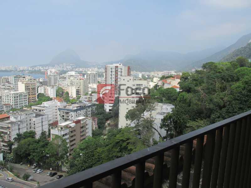 vista do pilotis - Apartamento à venda Rua Ministro João Alberto,Jardim Botânico, Rio de Janeiro - R$ 930.000 - JBAP20636 - 24