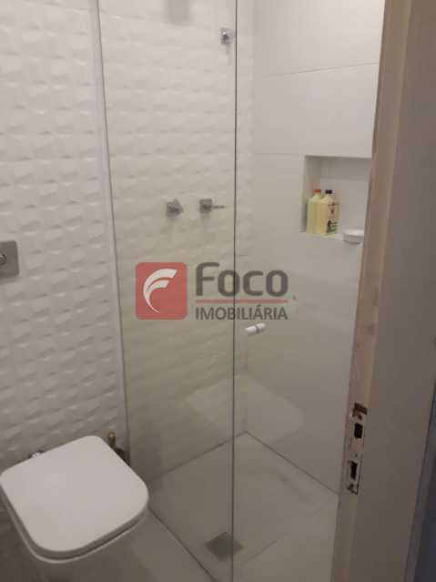 banheiro da suite - Entrar e Morar - Infraestrutura Total de Lazer - Sala 2 Quartos (suíte) - Vaga na Escritura - JBAP20641 - 24