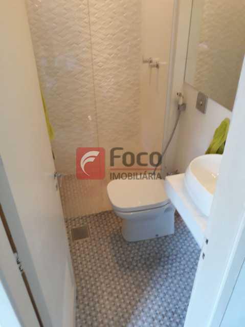 banheiro da suite - Entrar e Morar - Infraestrutura Total de Lazer - Sala 2 Quartos (suíte) - Vaga na Escritura - JBAP20641 - 14