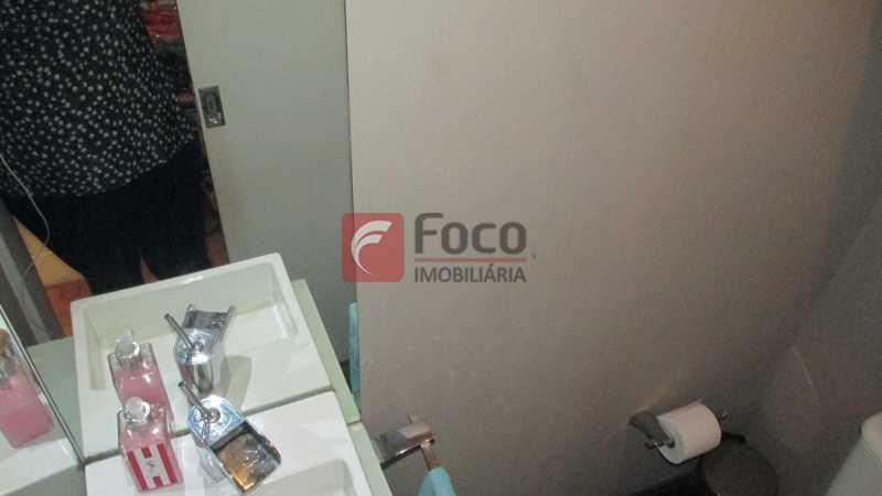 banheiro - Sala Comercial 24m² à venda Rua Dias Ferreira,Leblon, Rio de Janeiro - R$ 600.000 - JBSL00054 - 6