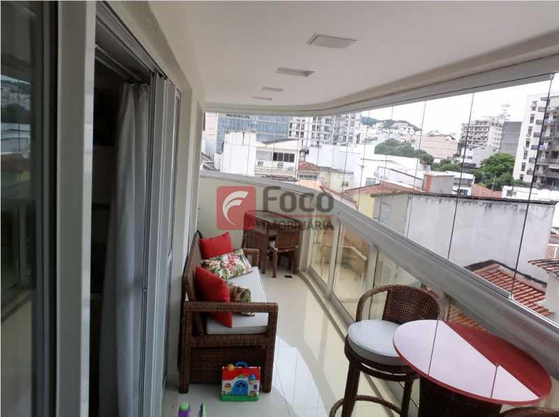 VARANDÃO 1º ANGULO - Total Infraestrutura de Lazer - Vista Pão de Açúcar - 03 quartos (1 suíte) - 02 Vagas - JBAP30884 - 3