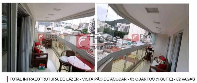VARANDÃO DONA MARIANA - Total Infraestrutura de Lazer - Vista Pão de Açúcar - 03 quartos (1 suíte) - 02 Vagas - JBAP30884 - 7