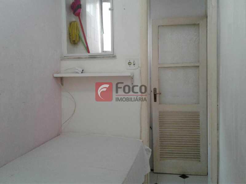 QUARTO EMPREGADA - Apartamento à venda Rua Barão da Torre,Ipanema, Rio de Janeiro - R$ 950.000 - FLAP22010 - 23
