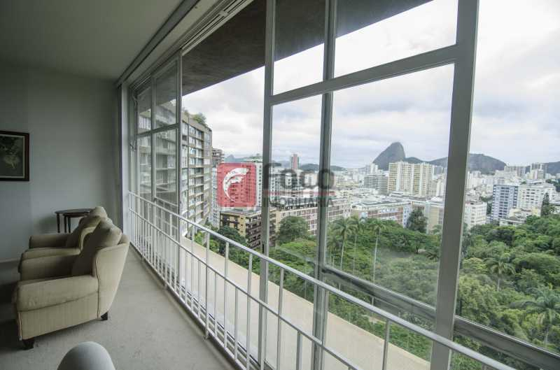 SALÃO COM VISTA - Apartamento 3 quartos à venda Laranjeiras, Rio de Janeiro - R$ 2.300.000 - FLAP31863 - 8
