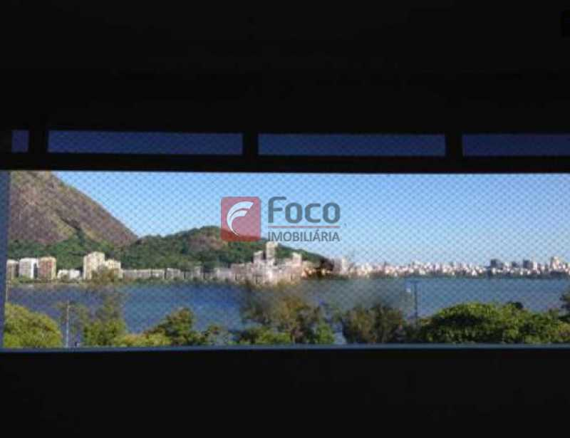 vista - Jardim Botânico - Cobertura com Linda Vista para a Lagoa - Original 04 Quartos - piscina - 02 Vagas - JBCO30109 - 7
