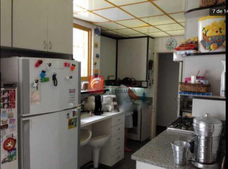 cozinha - Jardim Botânico - Cobertura com Linda Vista para a Lagoa - Original 04 Quartos - piscina - 02 Vagas - JBCO30109 - 14