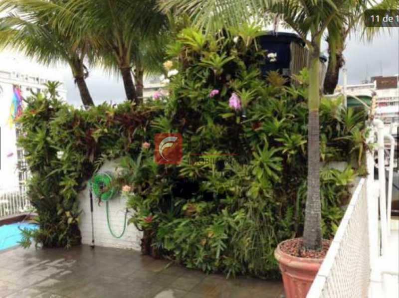 terraço - Jardim Botânico - Cobertura com Linda Vista para a Lagoa - Original 04 Quartos - piscina - 02 Vagas - JBCO30109 - 18