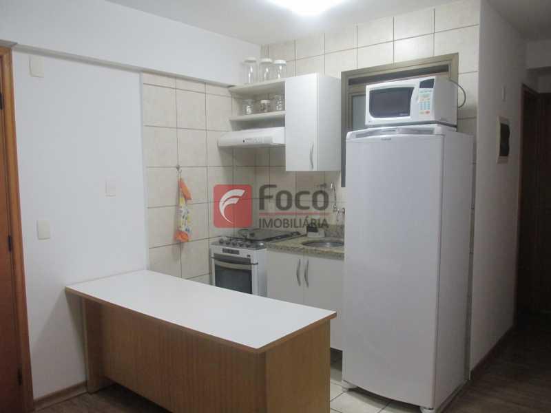 Cozinha - Flat à venda Rua Professor Saldanha,Jardim Botânico, Rio de Janeiro - R$ 1.290.000 - JBFL20005 - 18